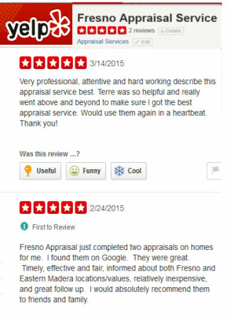 Fresno, CA Appraisal Reviews